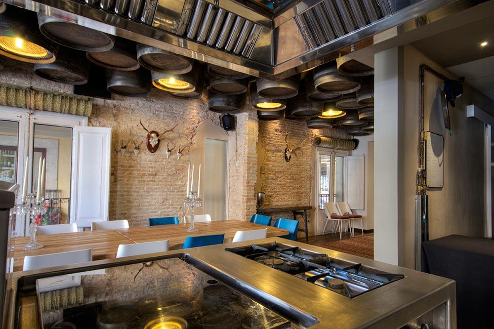 Dise o y decoraci n restaurante el altar de casa guinart for Diseno de restaurantes