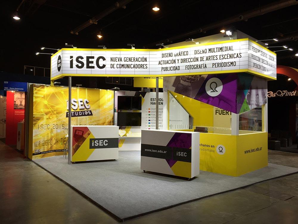 Diseño Stand ISEC
