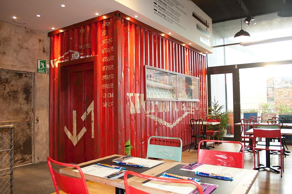 Dise O Y Decoraci N Restaurante Los Soprano Da2 Arquitectura