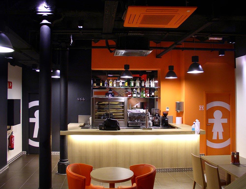 Dise o y decoraci n restaurante bo da2 arquitectura - Restaurantes de diseno ...