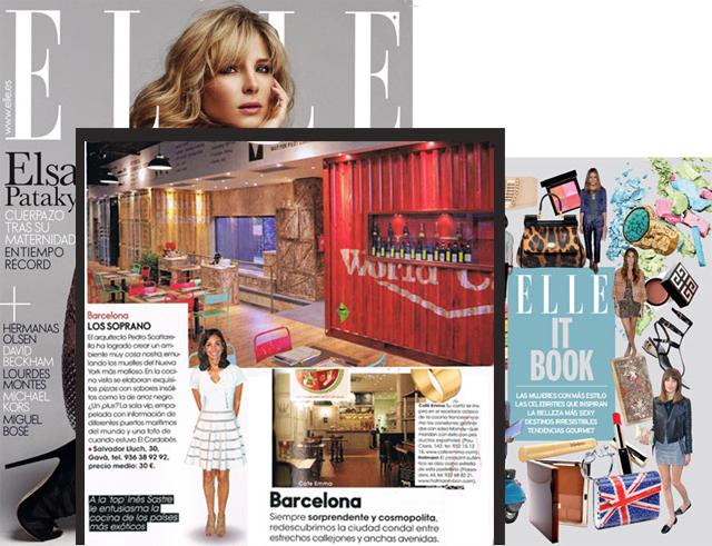 Mención en revista Elle