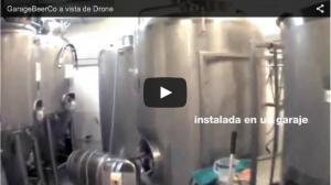 Garage Beer Co. A Vista de Drone