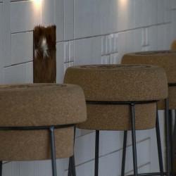 Vista barra pachwork 02 restaurante BOVINO GIJON Da2 Arquitectura