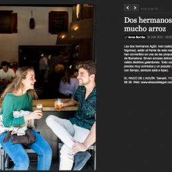 Diseño y decoración restaurante EL RACÓ DE L'AGUÏR foto portada