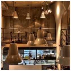 Diseño y decoracion de restaurante La puntaul Iluminacion anglepoise