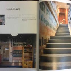 Diseño y decoracion restaurante Los Soprano revista MARU pag 01