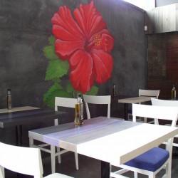 diseño-interior-y-decoracion-restaurante-Kauai-flor