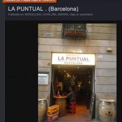 diseño y decoración de restaurante La puntual el comidista pportada
