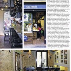 Dsieño y decoración restaurante Casa Guinart Revista Proyecto Contract pag 02