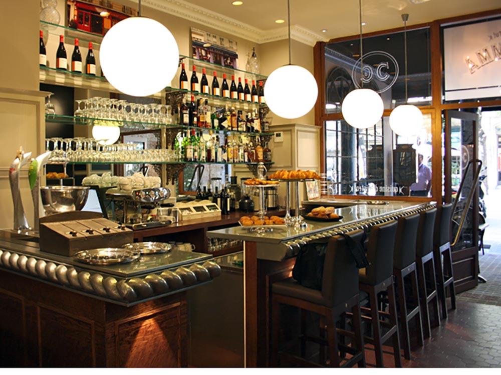 Dise o y decoraci n caf emma da2 arquitectura for Disenos para cafeterias