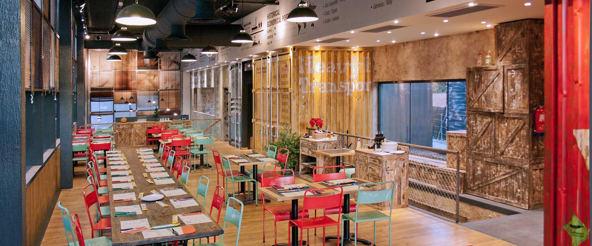 Da2 arquitectura interiorismo y arquitectura for Diseno de restaurantes