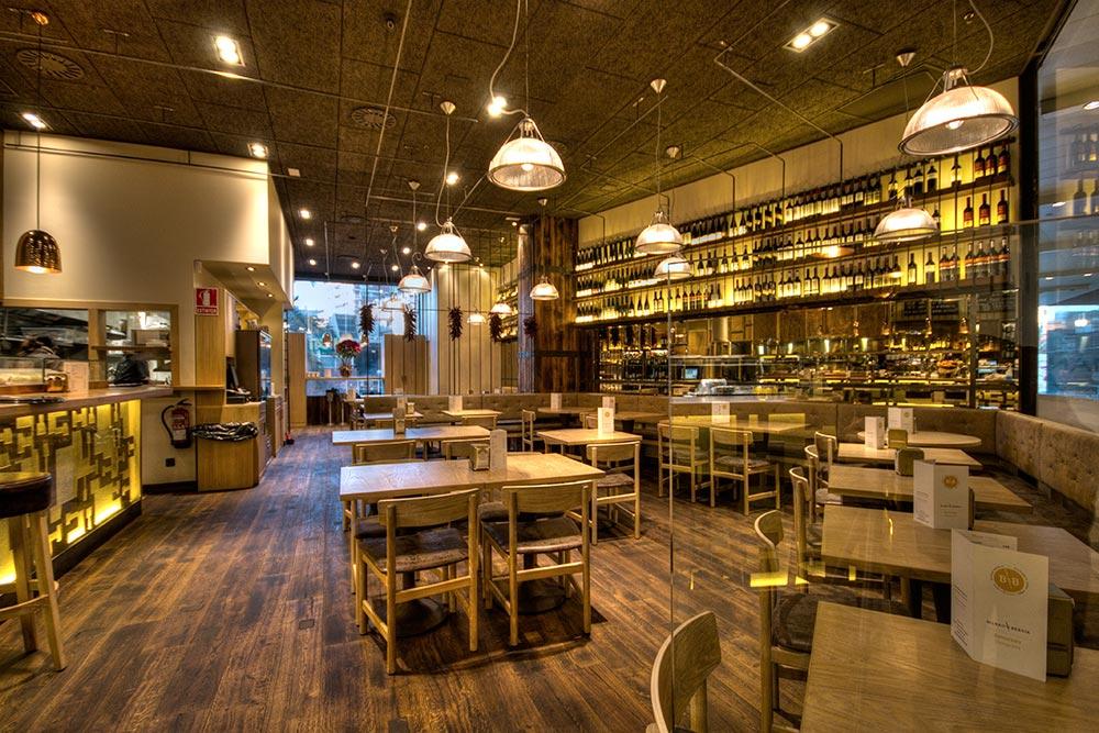 Dise o y decoraci n restaurante bilbao berria da2 for Diseno de restaurantes