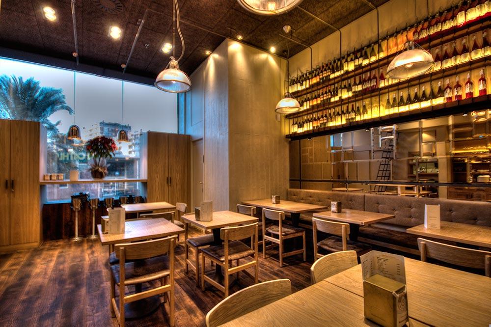 Dise o y decoraci n restaurante bilbao berria da2 for Diseno y decoracion