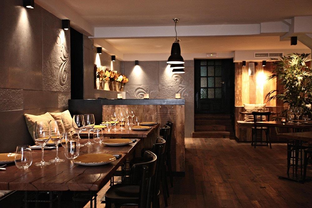 Dise o y decoraci n restaurante moderno koa palma de for Diseno de interiores mallorca