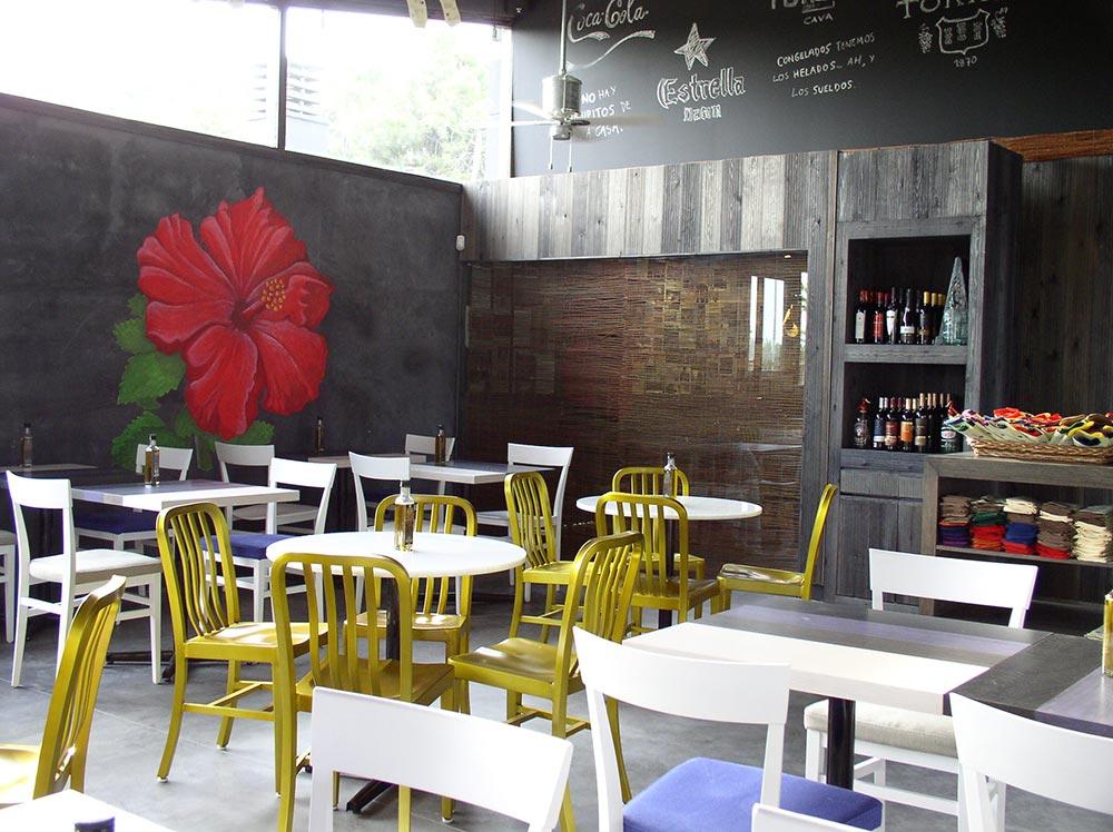Dise o y decoraci n restaurante kauai da2 arquitectura for Diseno restaurante