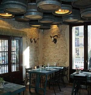 Decoración Restaurante Moderno – Casa Guinart – Barcelona