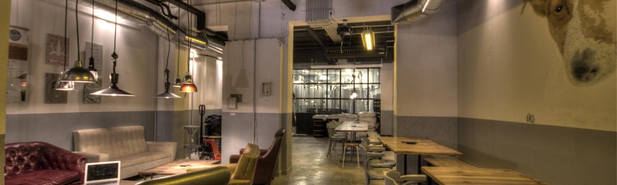 Dise o y decoraci n cervecer a garage beer da2 - D fabrica interiorismo ...
