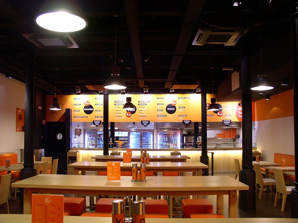 Dise o y decoraci n restaurante bo da2 arquitectura for Decoracion diseno