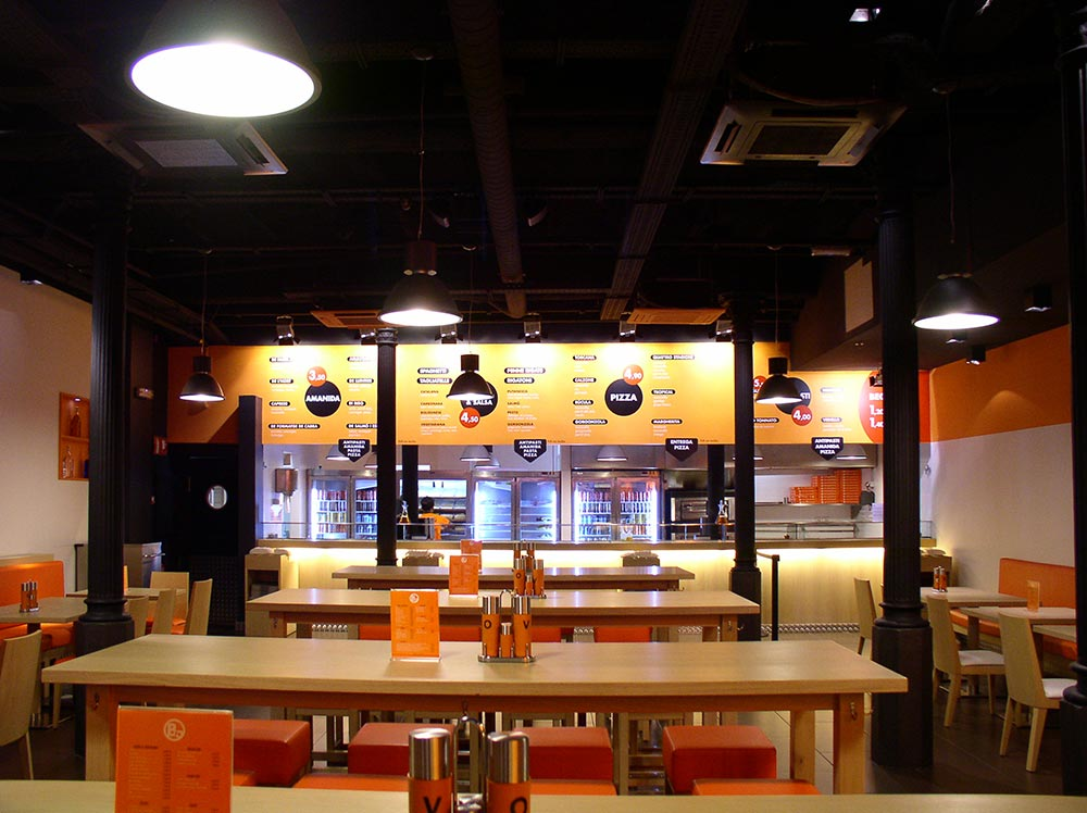 Dise o y decoraci n restaurante bo da2 arquitectura for Diseno y decoracion