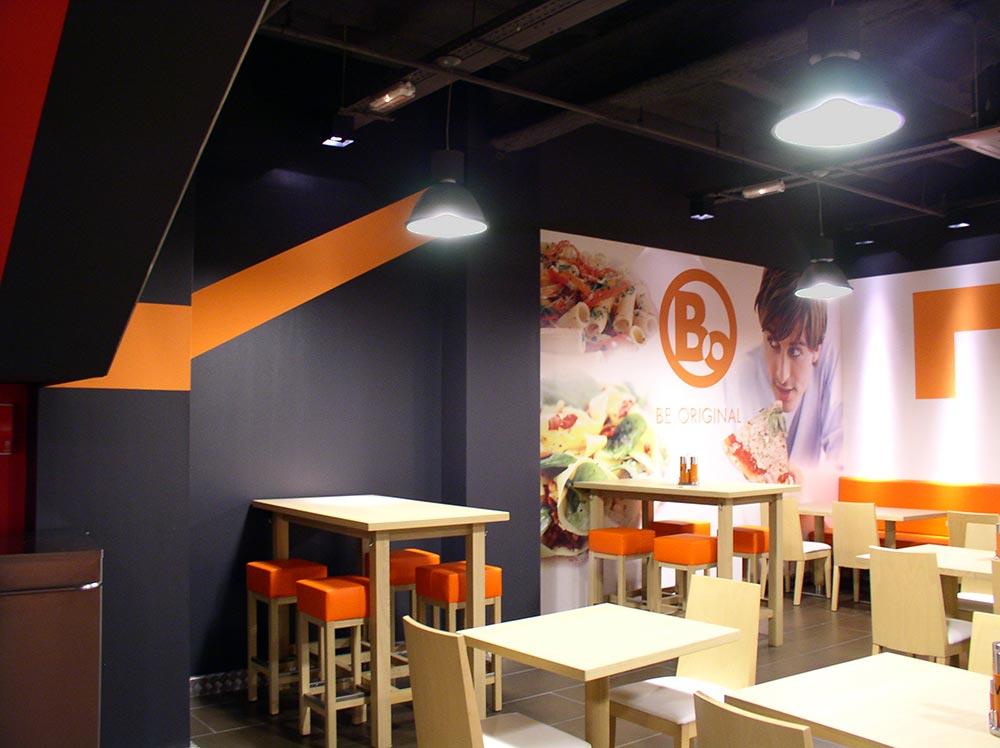 Dise o y decoraci n restaurante bo da2 arquitectura - Diseno y decoracion ...