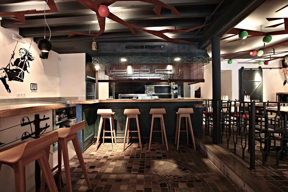 Diseño y decoración restaurante estilo propio