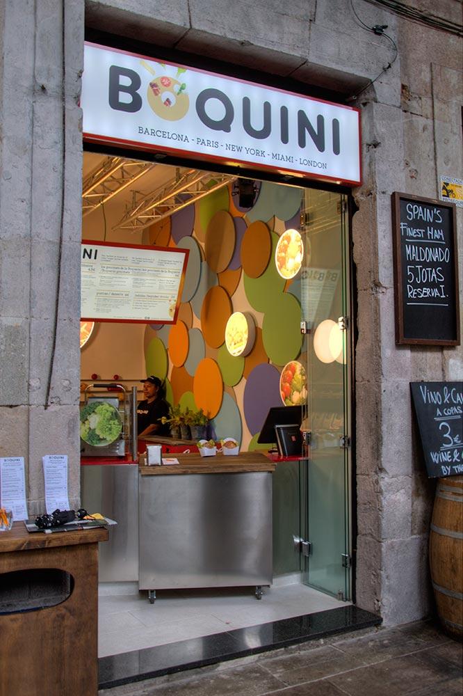 Diseño y Decoración Tienda Boquini