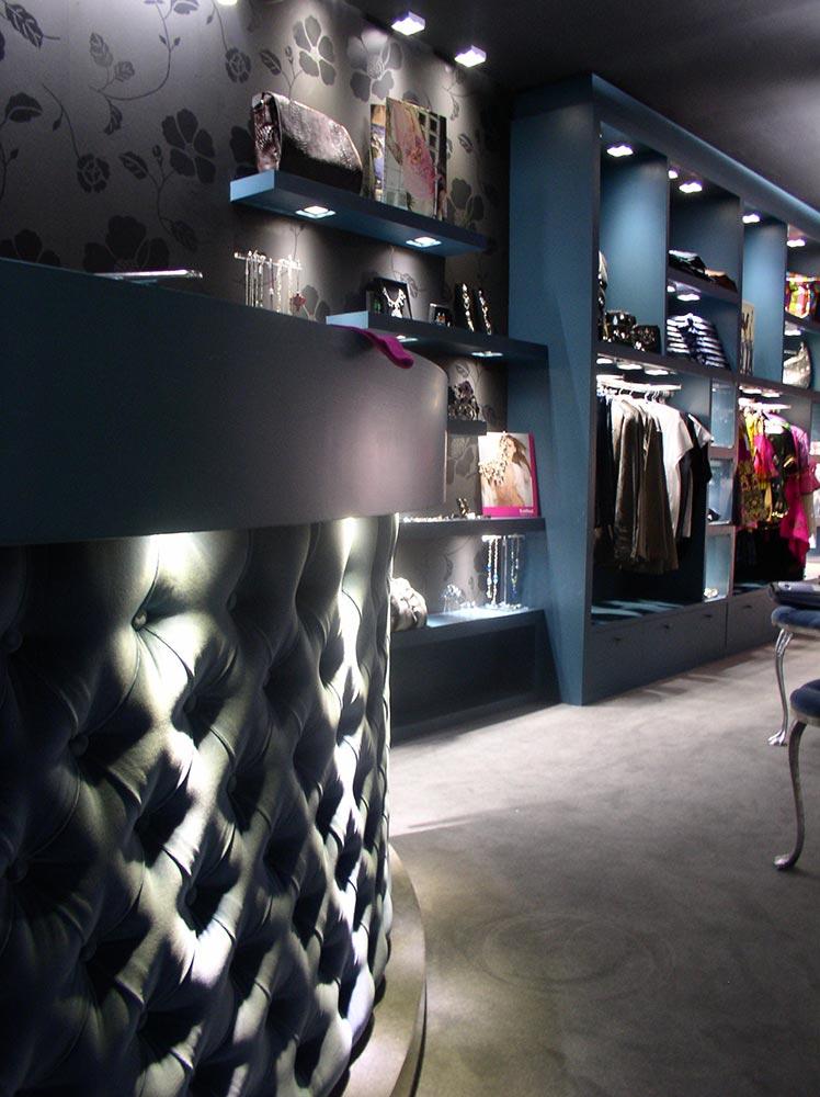 Diseño y Decoración Tienda de ropa