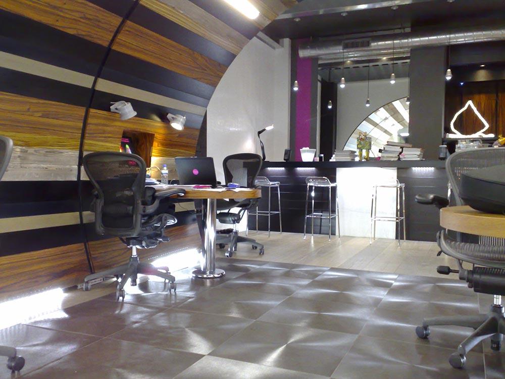 Diseño Tienda en Madrid - Led a Porter