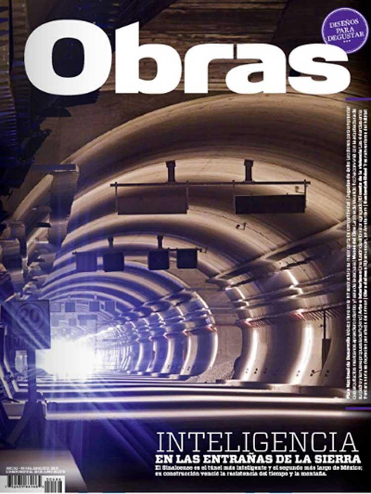Diseño y decoración Restaurante Casa Guinart en Revista Obras Portada