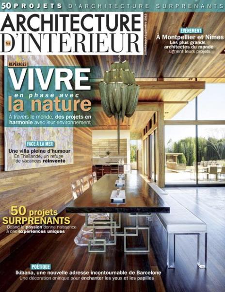 Dsieño y decoracion restaurante Los Soprano revista en francia portada