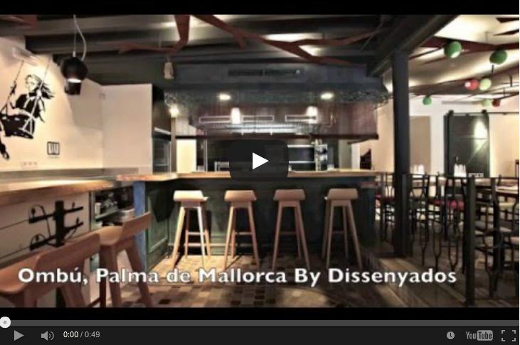 Diseño y decoración del restaurante Ombú (antes y después...)