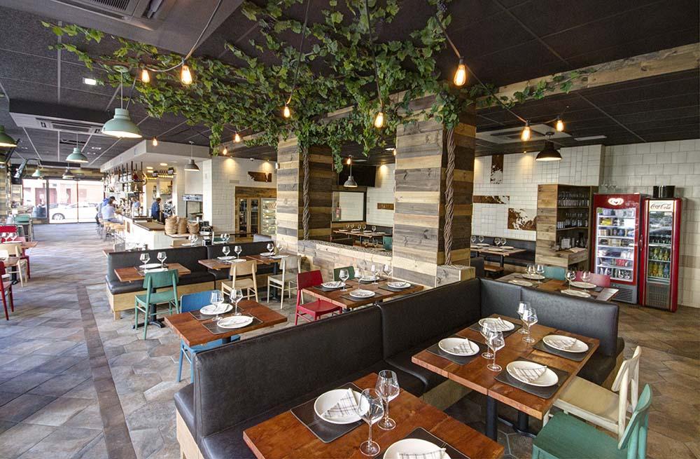 Diseño y Decoración Restaurante Txapela