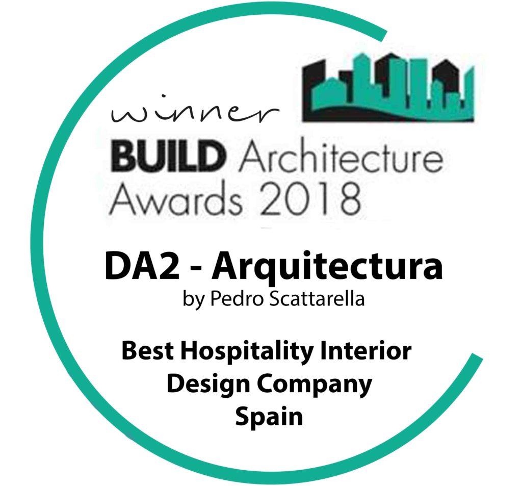 DA2 Arquitectura Premio Al Mejor Estudio de Diseño Interior en Hospitality