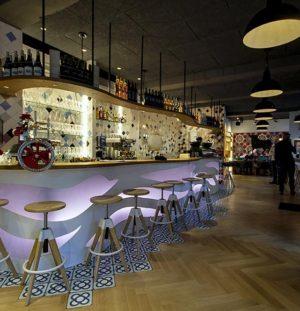 Diseño y Decoración Bar OLA TAPAS – STRASBOURG