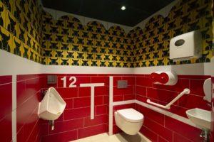 Diseño y decoracion restaurante OLA TAPAS diseño de baños 01