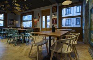 Diseño y decoracion restaurante OLA! TAPAS zona galicia