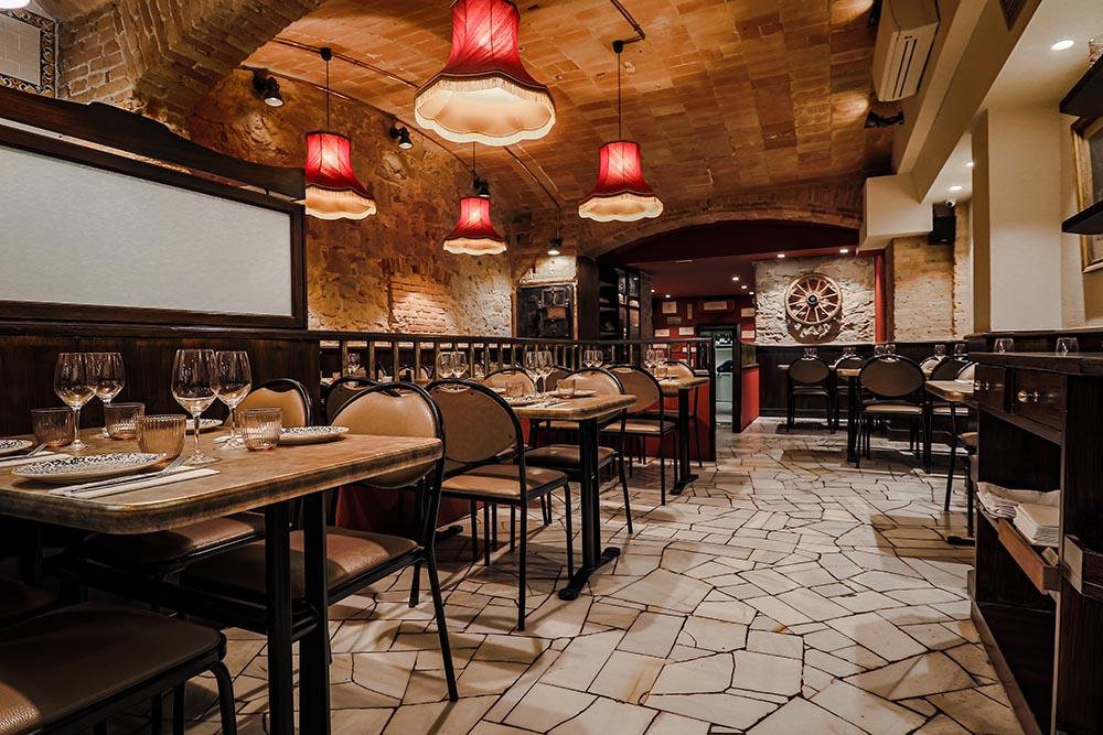 Diseño Wine bar Bistrot Bilou - Barcelona