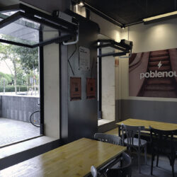 cerveceria artesanal garage beer detalle ventanas estilo Garage