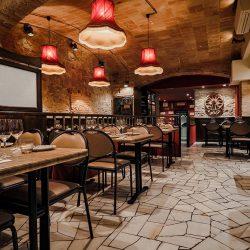 Bistrot Bilou wine bar salón principal