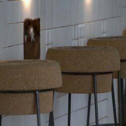 barra pachwork 02 restaurante BOVINO GIJON Da2 Arquitectura