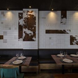 Salón polivalente trasero restaurante BOVINO GIJON Da2 Arquitectura