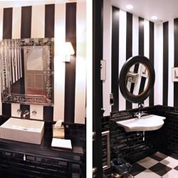 Decoración de baños estilo francés DA2-Arquitectura