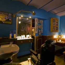 Diseño y Decoracion speakeasy bar Bobbys free Barcelona speakeasy plano general