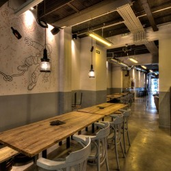 Cervecería fabrica  salón principal