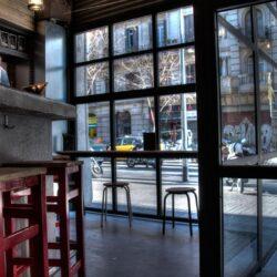 mobiliario bar taburetes