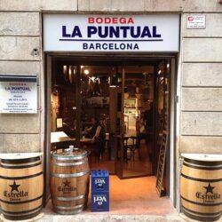fachada Decoración Restaurante Bodega La Puntual