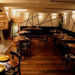 restaurante moderno KOA salón superior