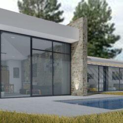 Diseño y Construcción Casa 100 m2 en Dosrius exterior 02