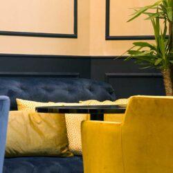 Diseño y Decoracion bar Talisman detalle sillas