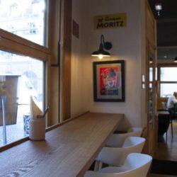 Diseño y decoracion Bar OLA! TAPAS detalle barra ventana